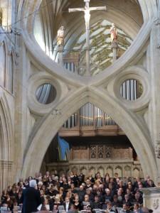 Konzert in der Kathedrale von Wells